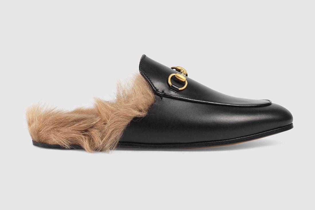 Gucci Kangaroo Fur Loafer