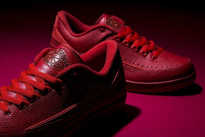 Air Jordan 2 Gym Red 1