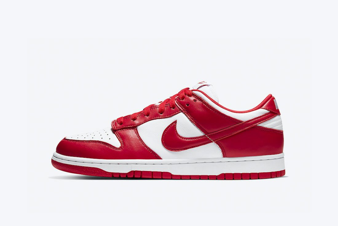 Nike Dunk Low University Red St Johns