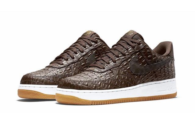 Nike Af1 Brown Croc Pack Ndc Bump 5