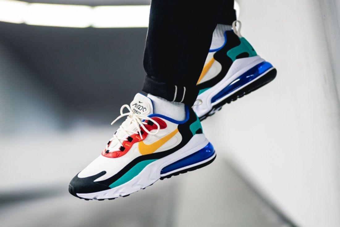 Nike Air Max 270 React Multicolor Ao4971 002 Mood 1On Foot