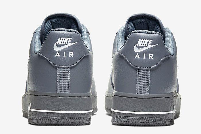 Nike Air Force 1 Low Jewel Grey Heel
