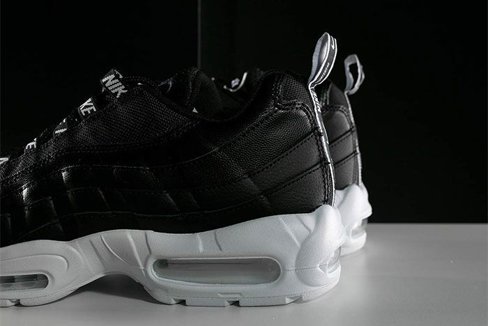 Nike Air Max 95 Black White Overbranding 7