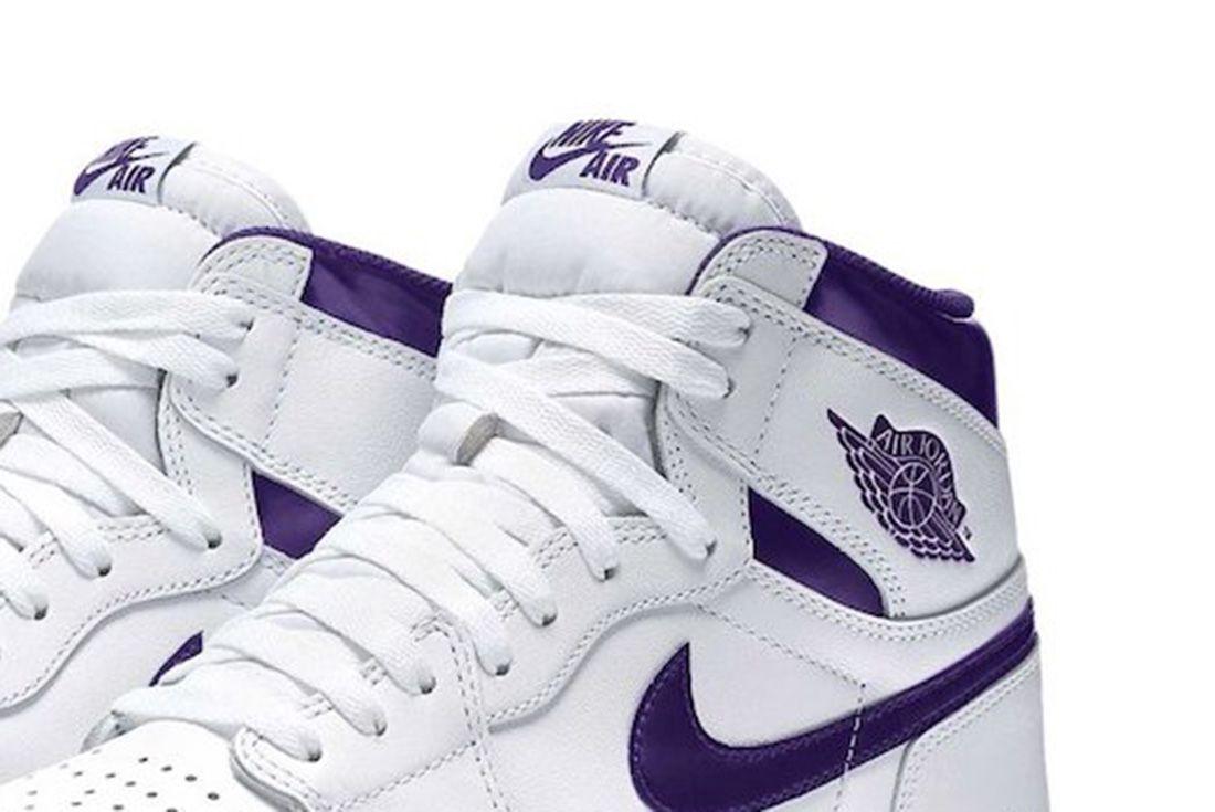 Air Jordan 1 Court Purple 2021