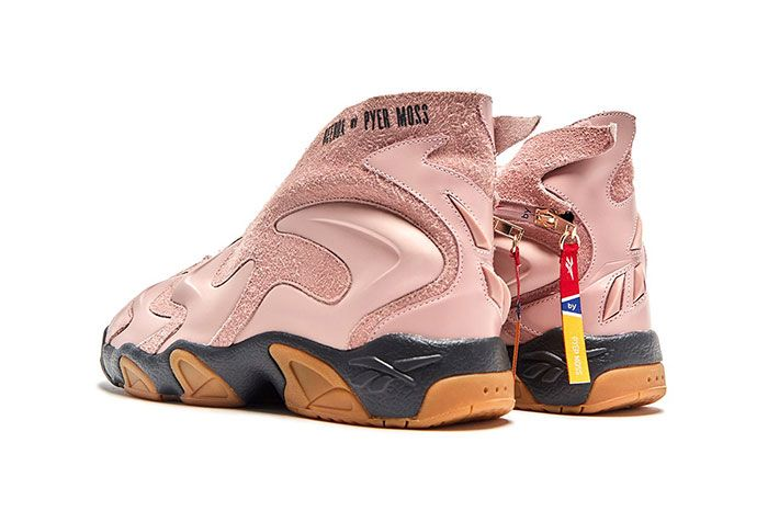 Reebok By Pyer Moss Experiment 3 Pink Left Back