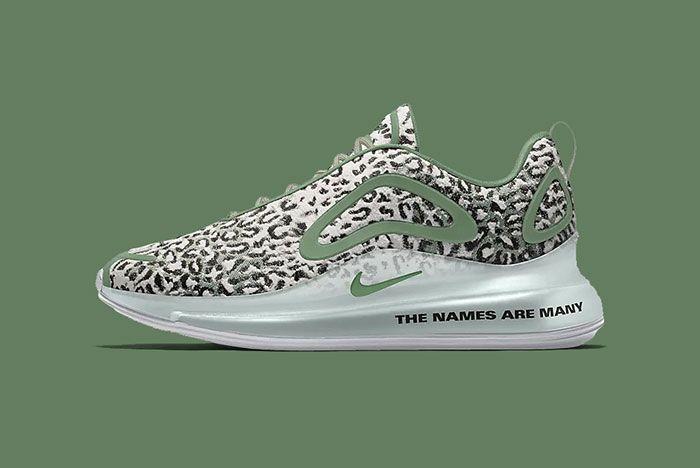 Maharishi Nike Air Max 720 By You Leopard Camo Bq7699 991 Green