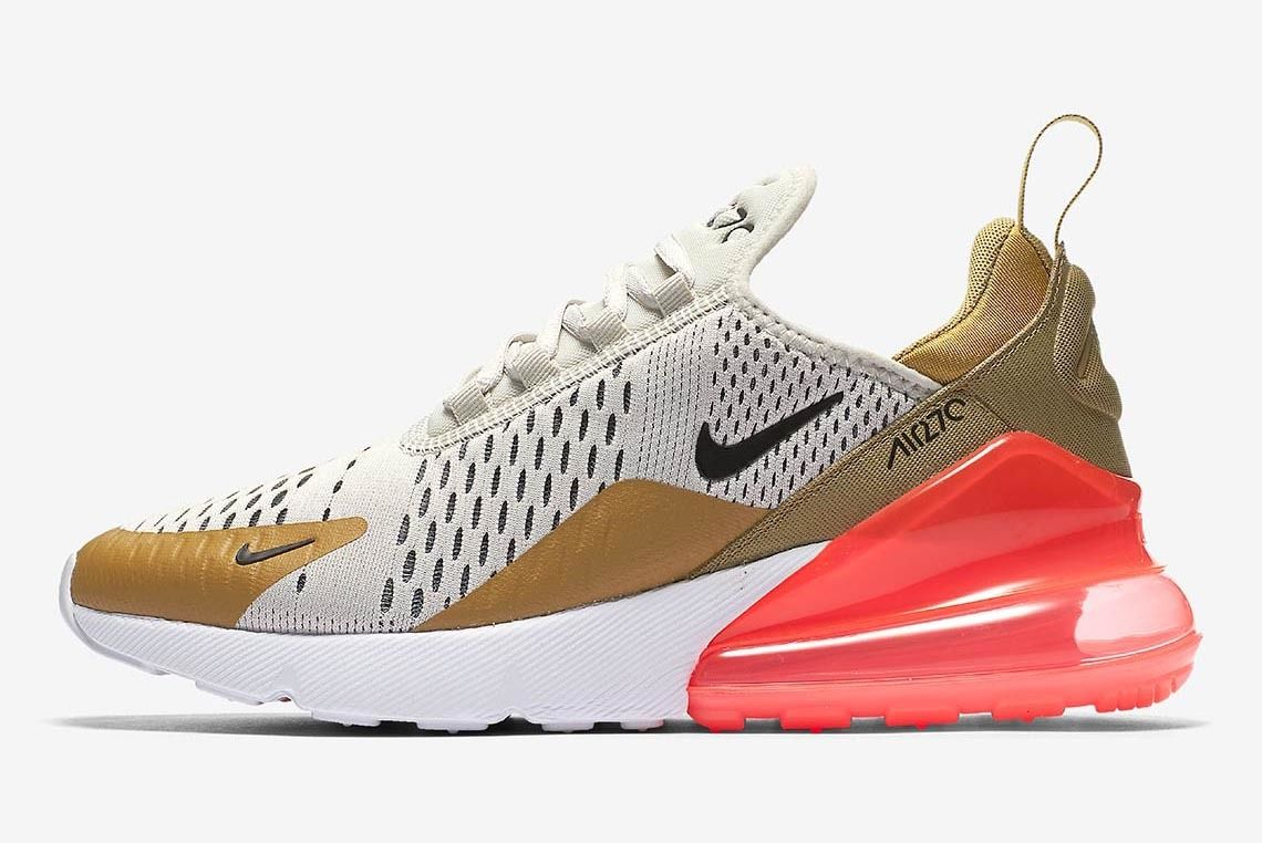 Nike Air Max 270 Flight Gold Ah6789 700 1 Sneaker Freaker