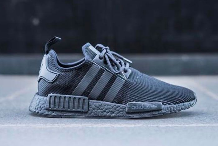 First Look At The Adidas Nmd R1 Triple Black Corduroy Sneaker