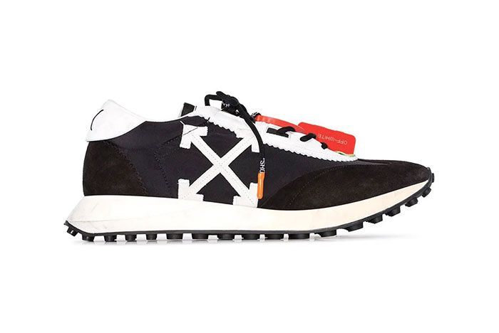 Off White Running Sneaker1 Side