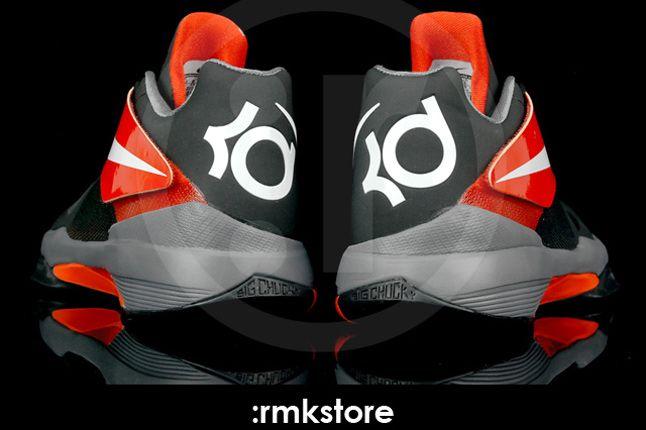 Nike Kd 4 Black Team Orange 04 1