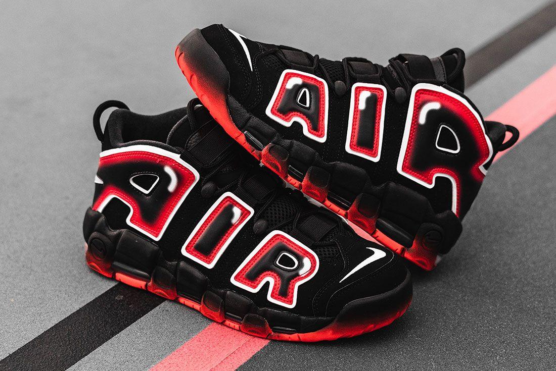 Nike Air More Uptempo 96 Laser Crimson 4