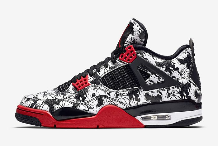 Air Jordan 4 Tattoo Official 2