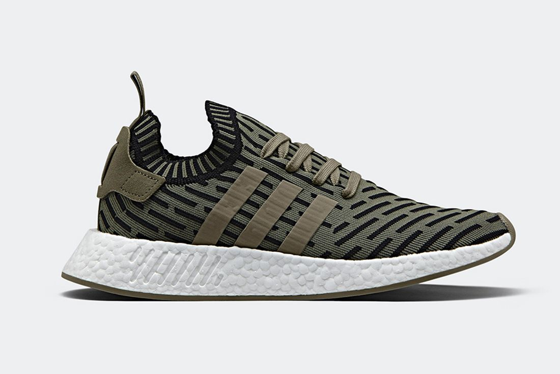 Adidas Nmd R2 Olive Shadow Noise A