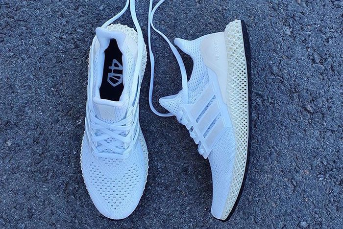 Adidas Ultra 4 D White Release Date 3Leaked Shots
