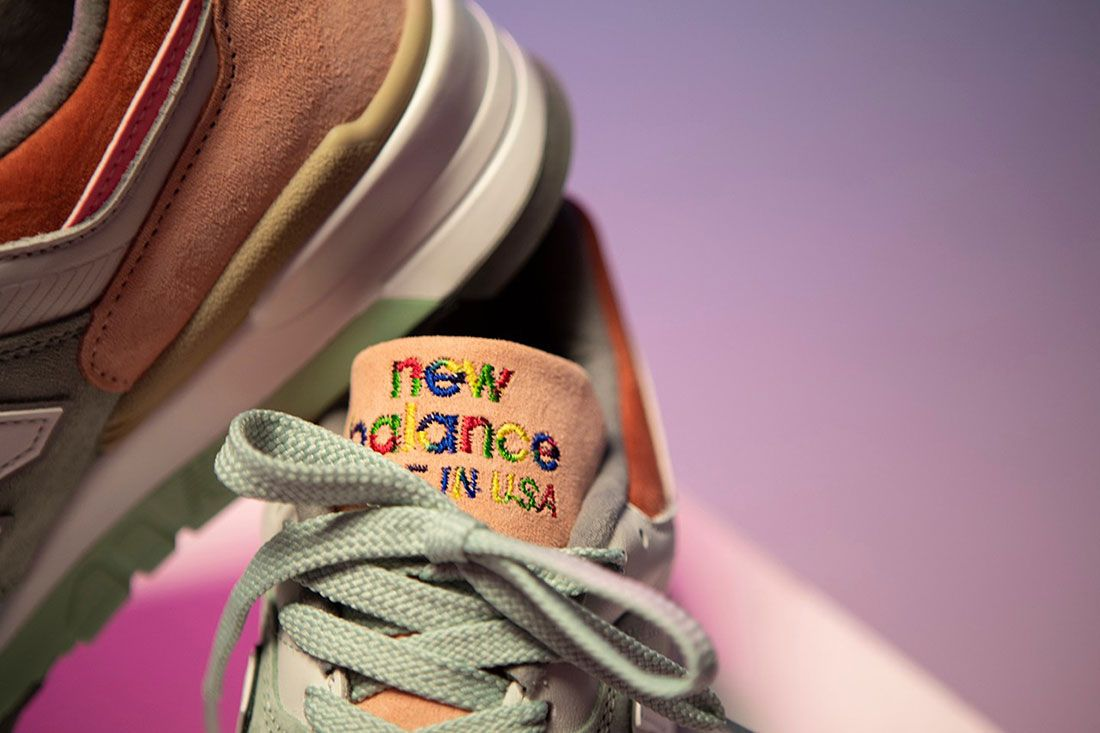 Todd Snyder New Balance 997 Love Tongue