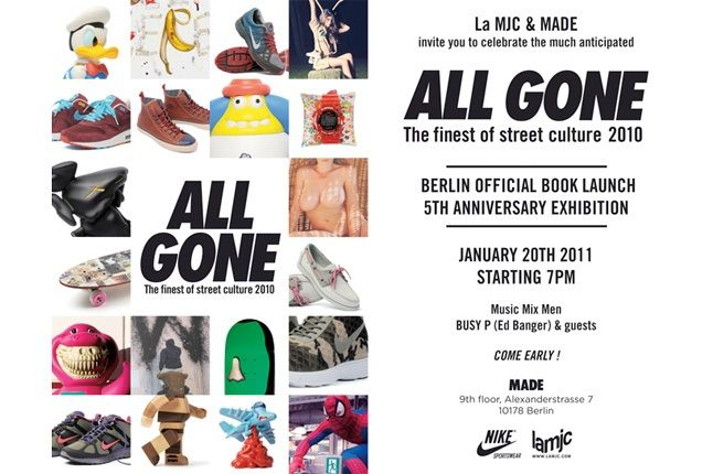 All Gone Flyer 1