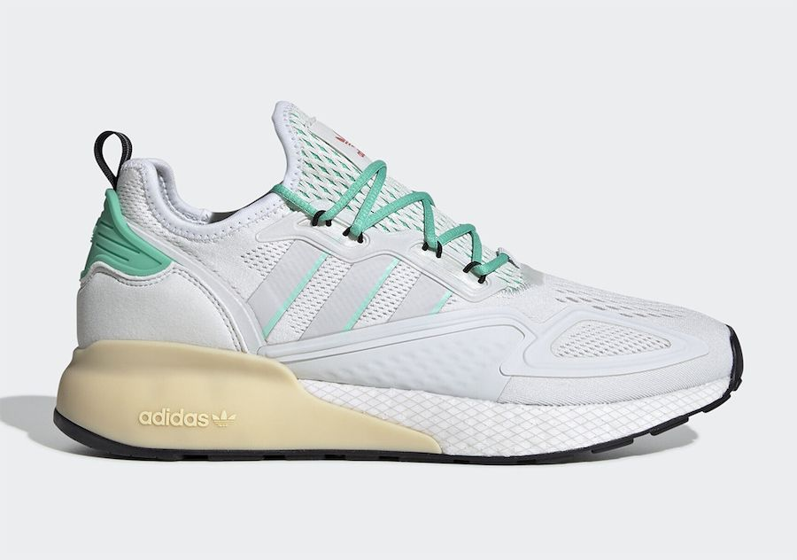 adidas ZX 2K BOOST Hi-Res Green Right