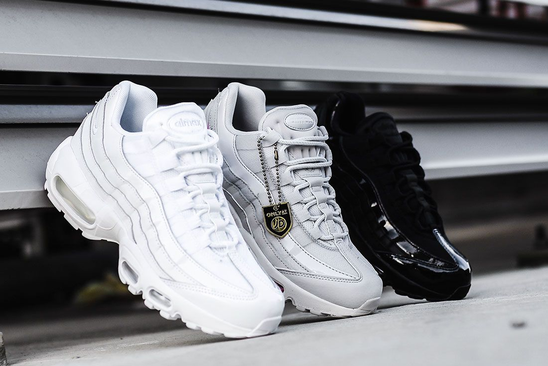 Nike Air Max 95 Jd Sports Australia White Grey Black Grey Background