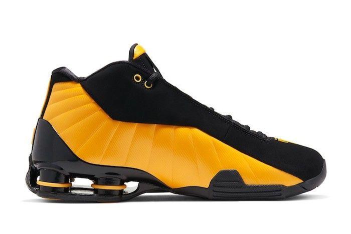 Nike Shox Bb4 University Gold 2