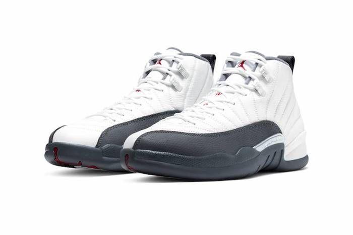 Jordan 12 White Grey 4