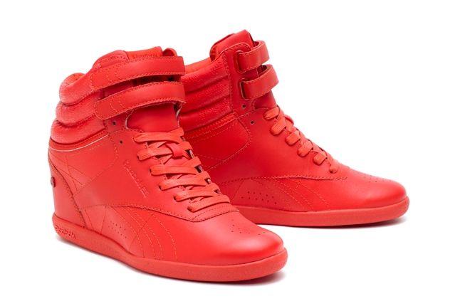 Reebok Alicia Keys Freestyle Hi Red Hero 1