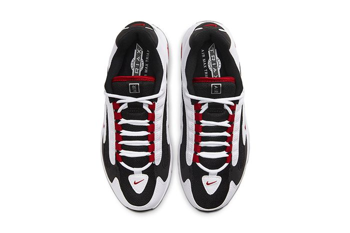 Nike Air Max Triax 96 White University Red Black Release Date Top Down
