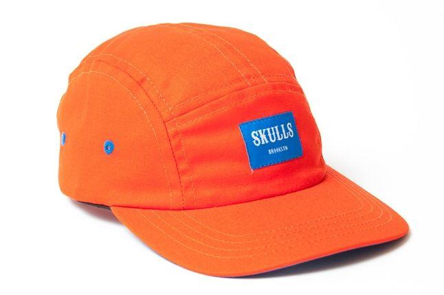 Skulls Spring 5Panel Orange 1