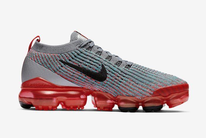 Nike Air Vapormax 3 Flash Crimson Medial