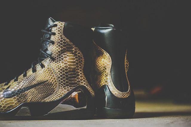 A Closer Look At The Nike Kobe Ix High Ext Qs Snakeskin 34
