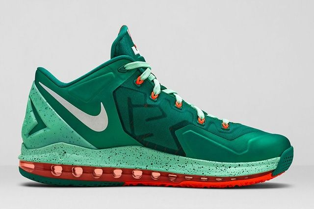 Lebron 11 Low Mystic Green 4