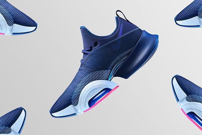 Nike Air Zoom Superrep Blue Lateral