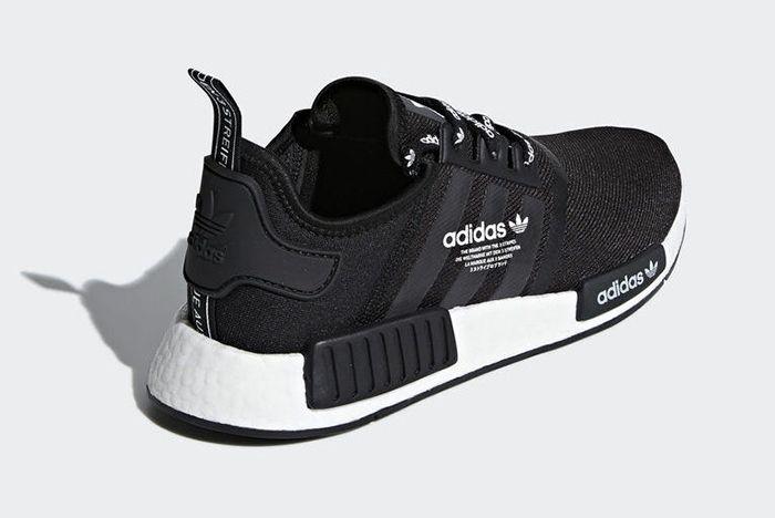 Adidas Nmd R1 Logo Core Black 3