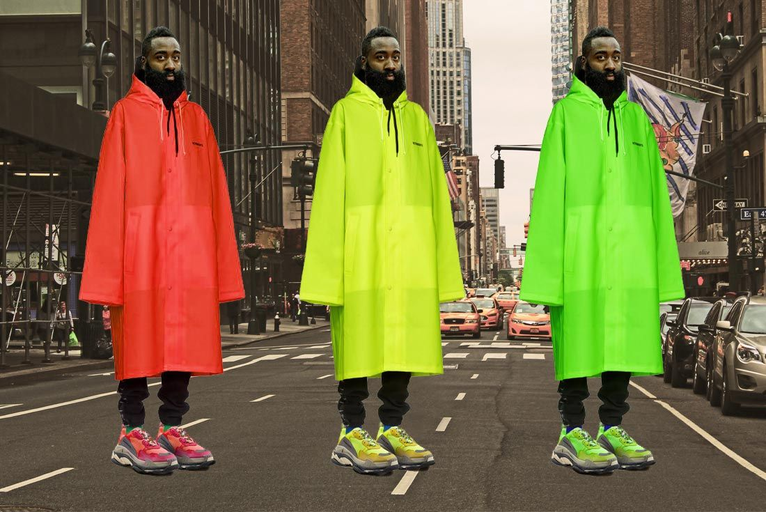 James Harden Balenciaga Street Look