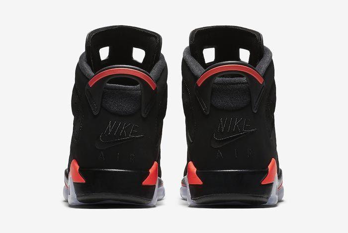 Air Jordan 6 Black Infrared Childrens 5