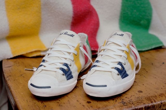 Converse X Hudsons Bay Company Collection Pair