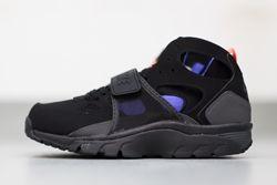 Nike Huarache Trainer Black Persian Violet Thumb