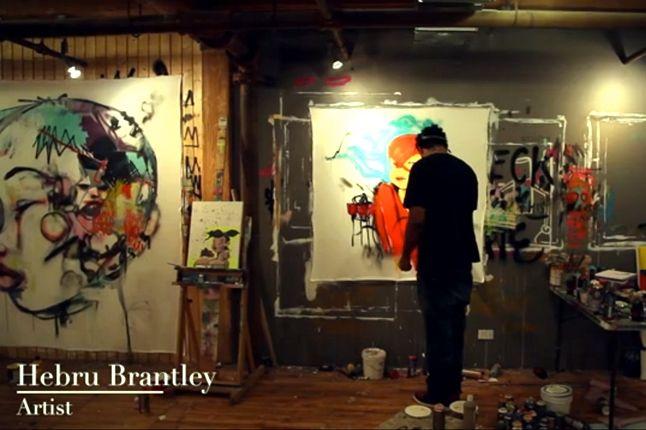 Adidas Ts Lite Amr Hotb Hebru Brantley In The Studio 1
