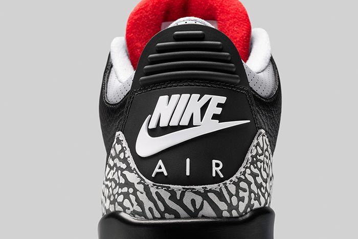 Air Jordan 3 Black Cement 9
