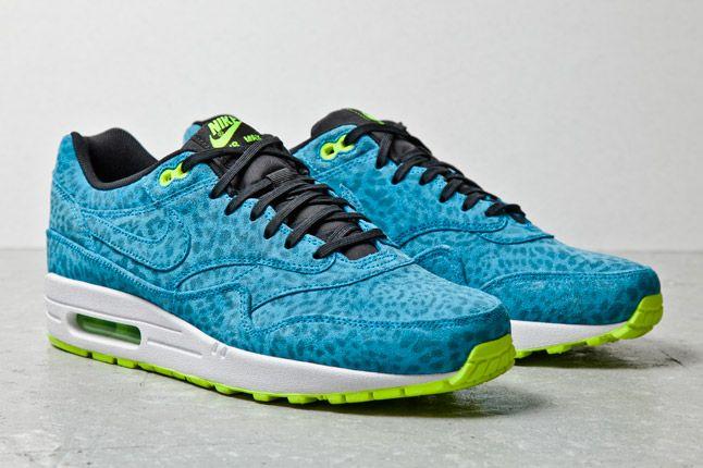 Nike Air Max 1 Fb Blue Leopard 2 1