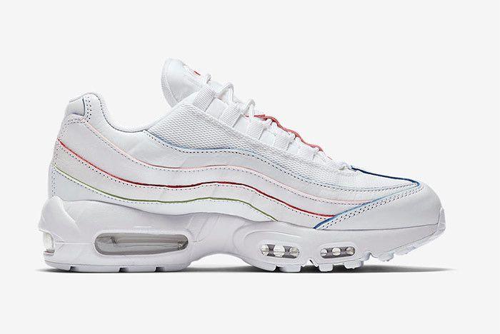 Nike Air Max 95 White Rainbow 4