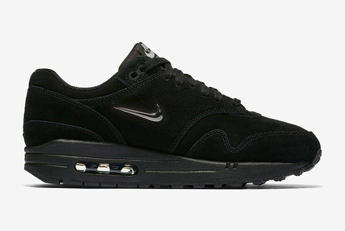 Triple Black Nike Air Max 1 Jewel Sneaker Freaker 3