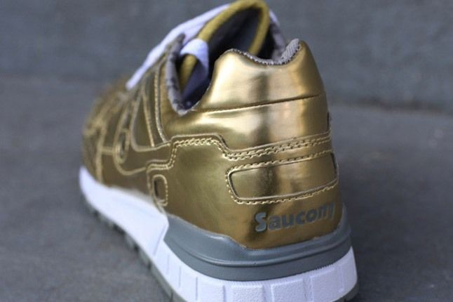 Play Cloths Saucony Gold Heel 1