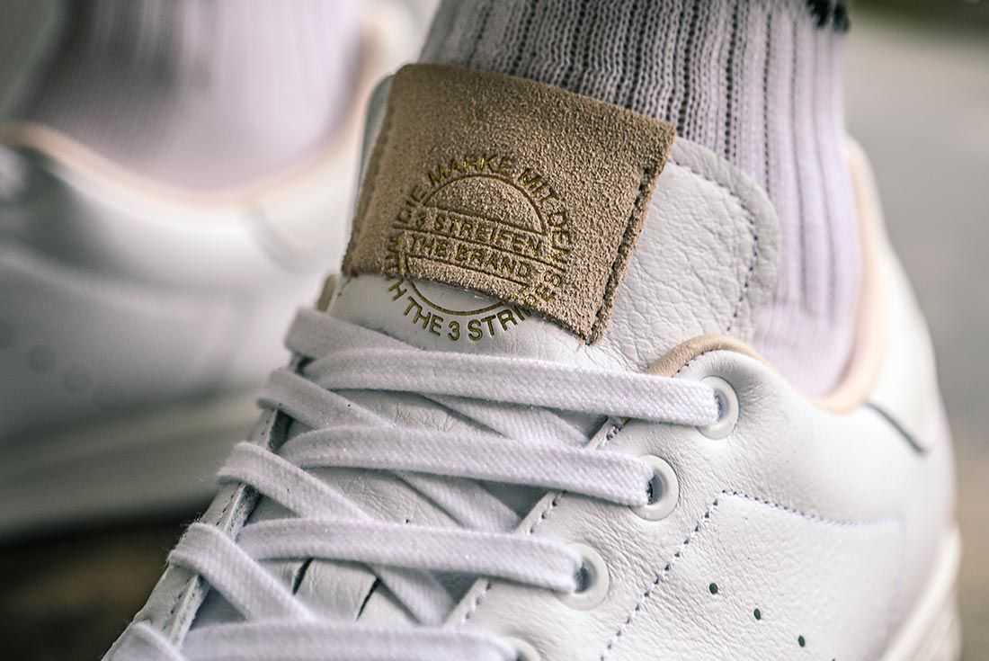 Adidas Stan Smith Home Of Classics On Foot Tongue Detail