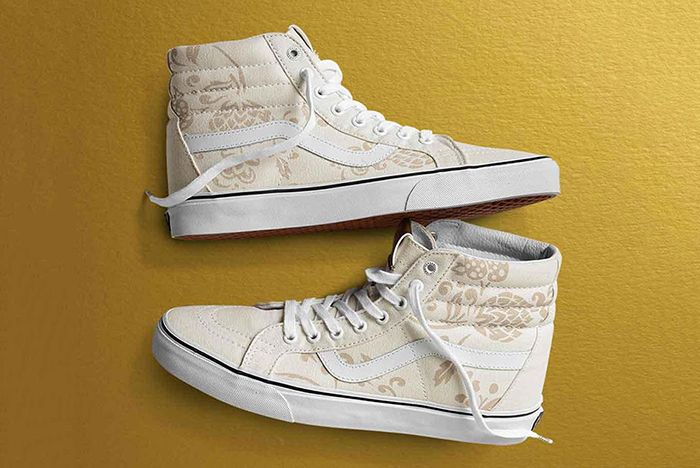 Vans 50 Th Anniversary Gold Collection8
