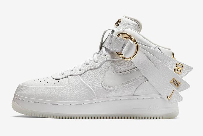 Victor Cruz Nike Air Force 1 Mid Snkrs Release 2