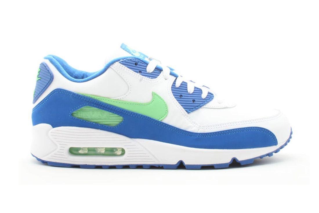 Nike Air Max 90 Seahawks 312642 131 Lateral