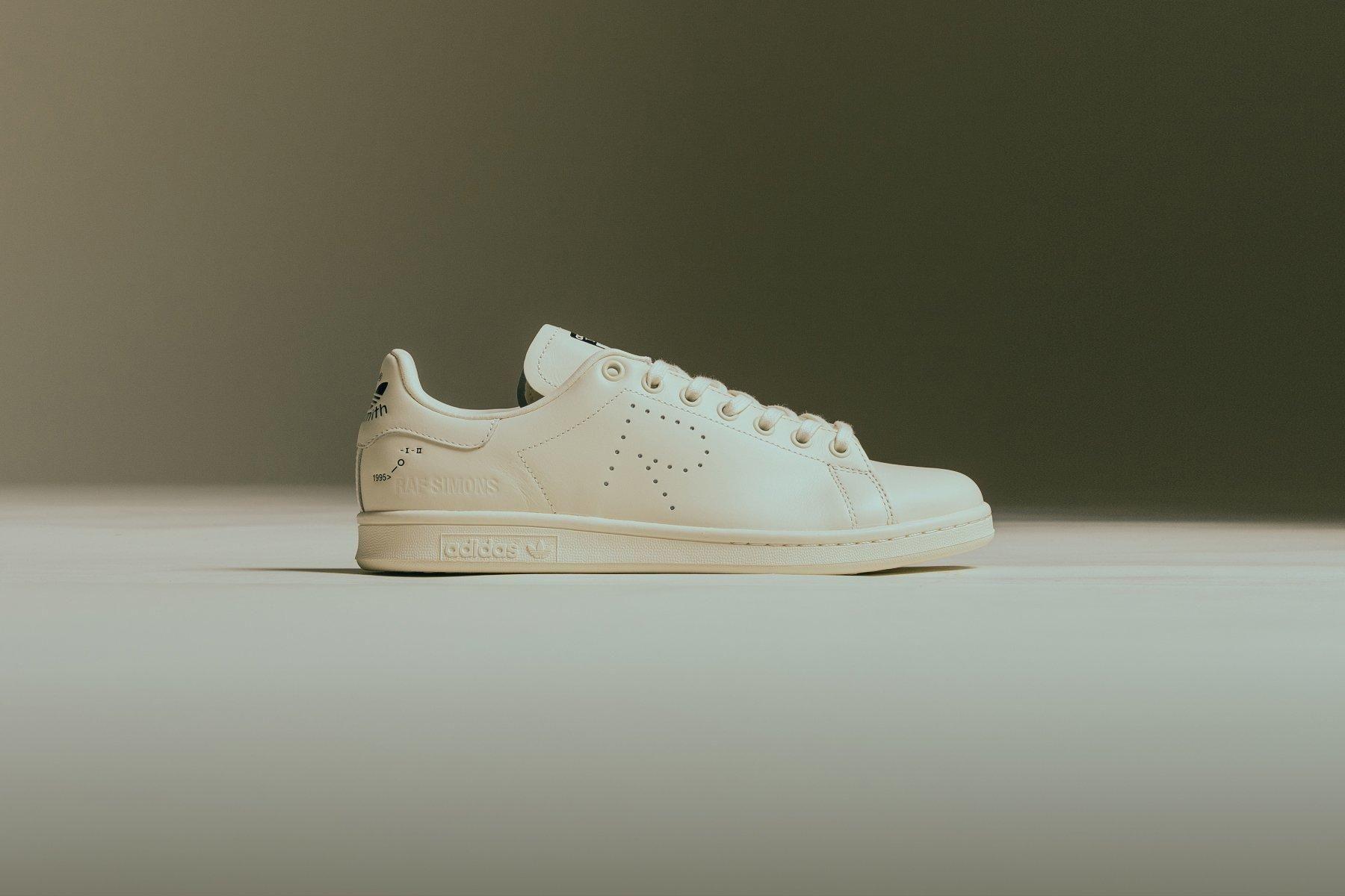 Adidas X Raf Simons Stan Smith  Core White Core Brown  F34256  Bold Yellow Flat White  F34259  Core White Core Black  F34264  Feature  September 18 2018 34