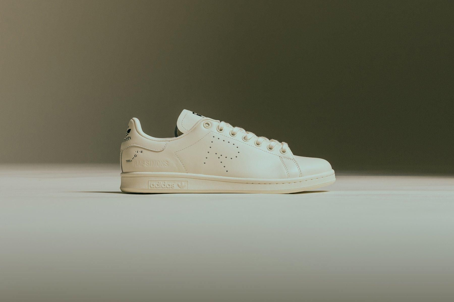 Adidas X Raf Simons Stan Smith  Core White Core Brown  F34256  Bold Yellow Flat White  F34259  Core White Core Black  F34264  Feature  September 18 2018 34