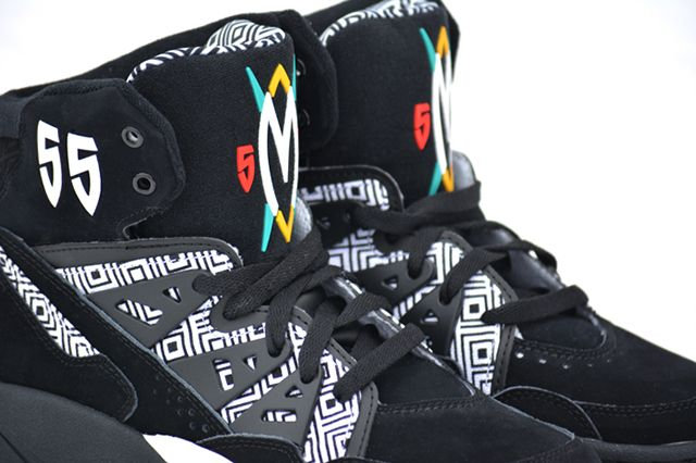 Adidas Mutombo Black White 5