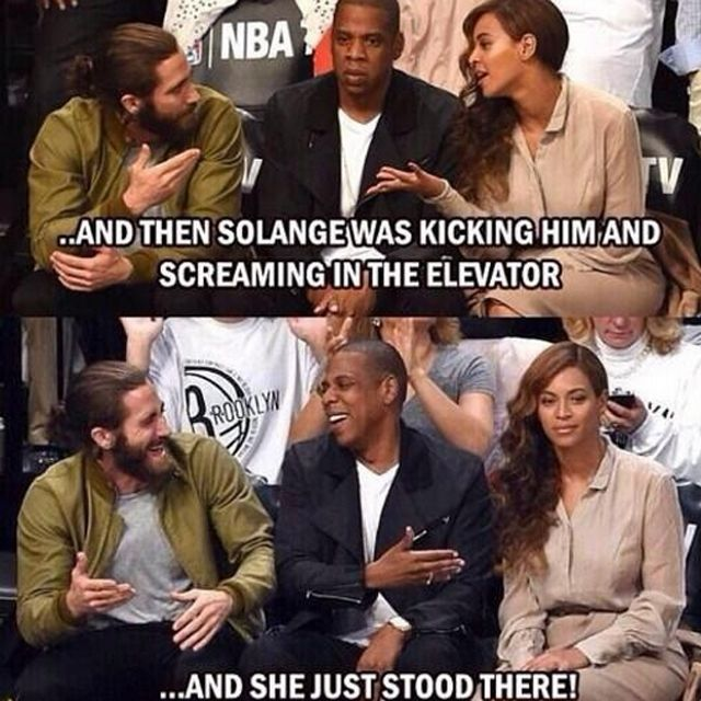 Solange Jay Z Memes 1